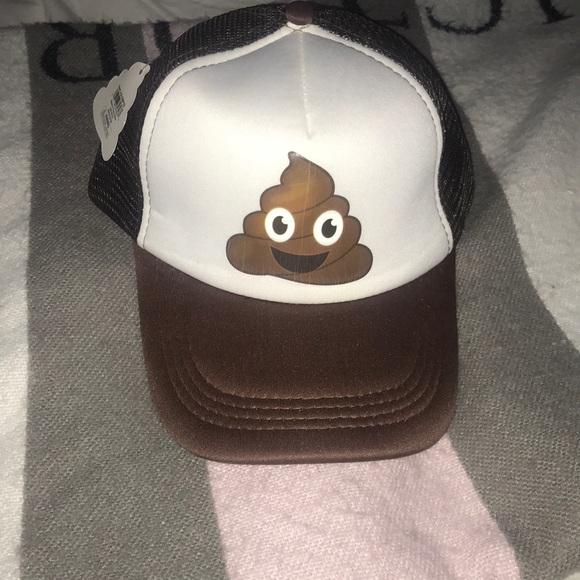 934b2989de110 Accessories poop emoji trucker hat poshmark jpg 580x580 Trucker hat nwt